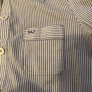 Marc by Marc Jacobs stripe button down size 4